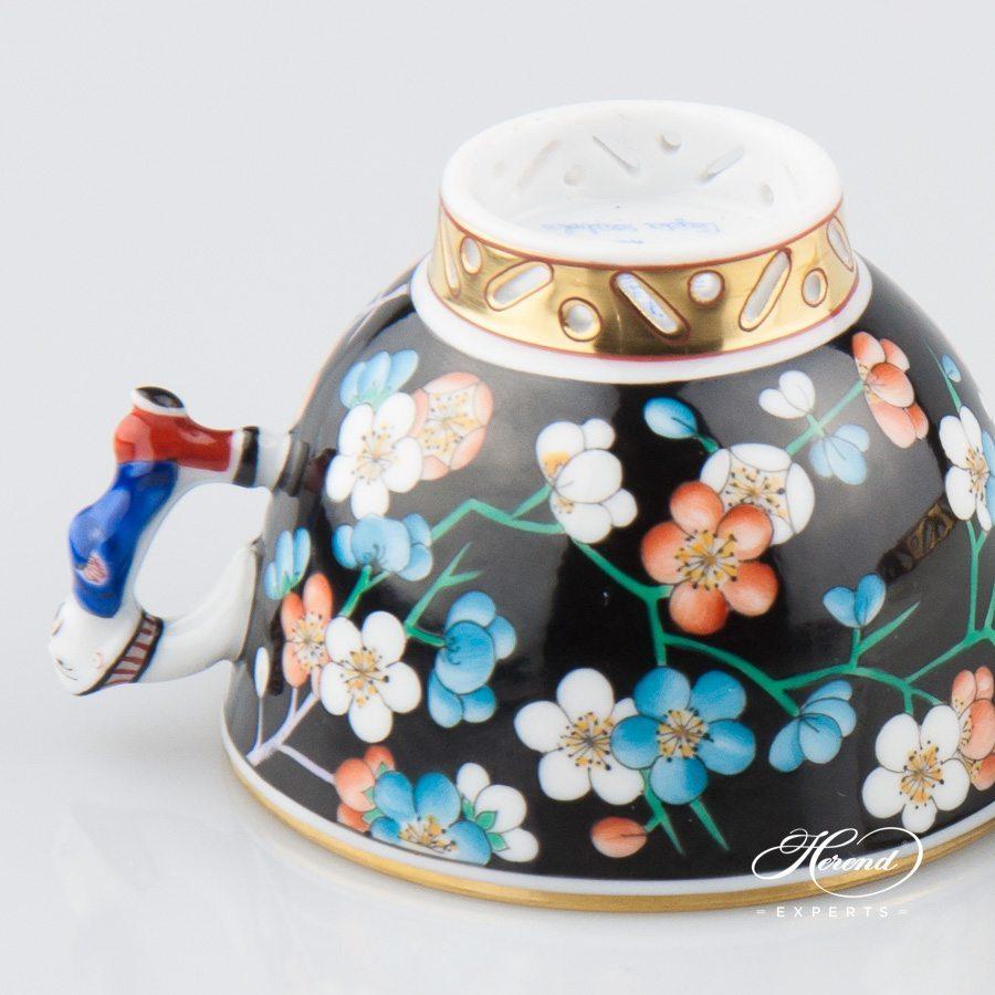 茶具 / 咖啡杯 – 彩色梅花 – 赫伦细瓷