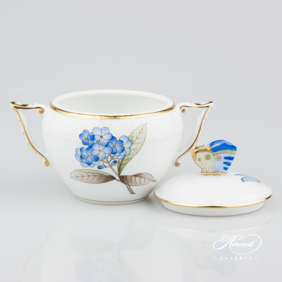 糖罐 – 维多利亚大花版- 赫伦细瓷