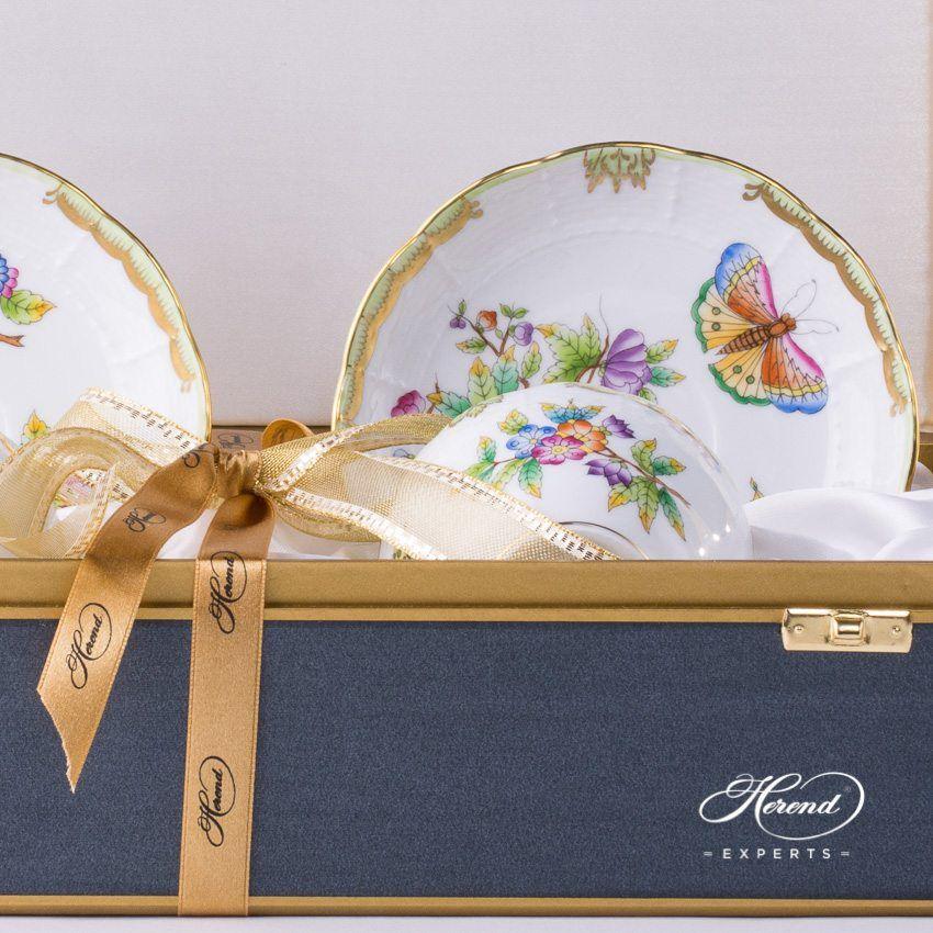 茶杯 双人用 – 维多利亚女王 – 赫伦细瓷