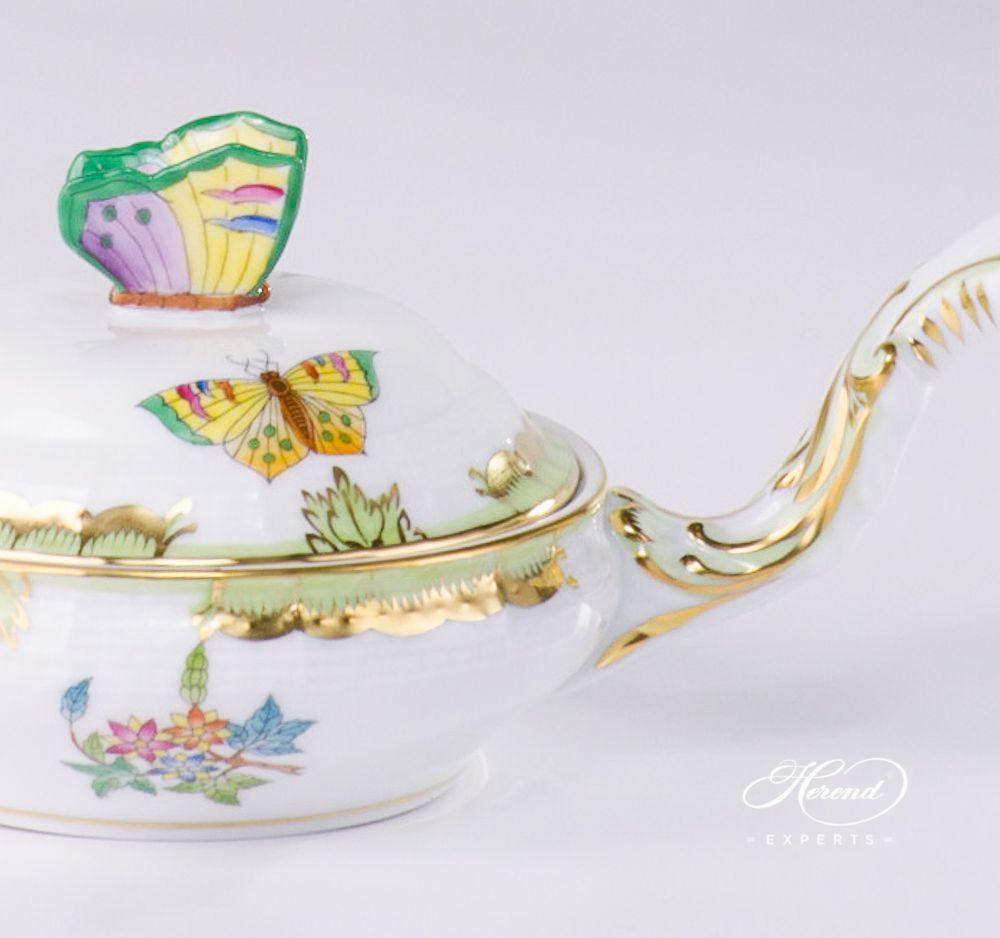带把手小瓷盘 – 维多利亚女王VBA – 赫伦细瓷