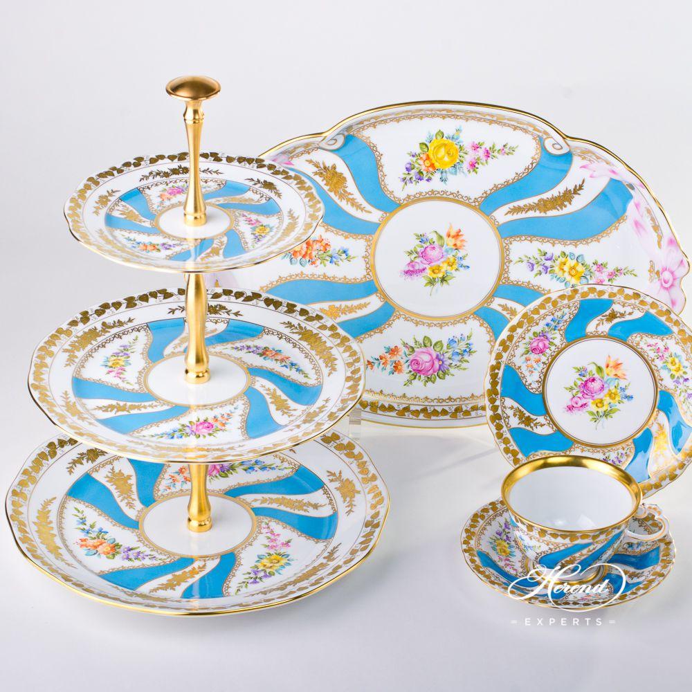 基础茶具套装 – Colette(科莱特) – 赫伦细瓷