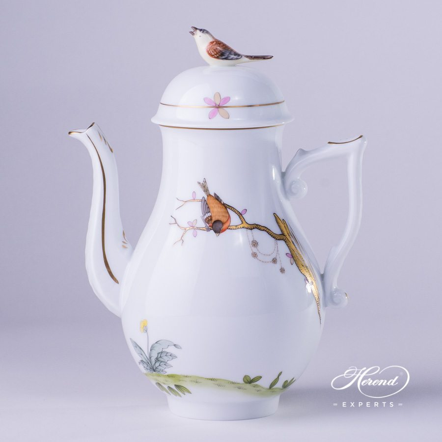 咖啡壶 – 梦幻花园 – 赫伦细瓷