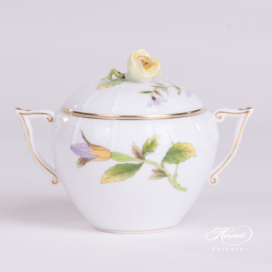 糖罐 – 皇家花园(绿色) – 赫伦细瓷