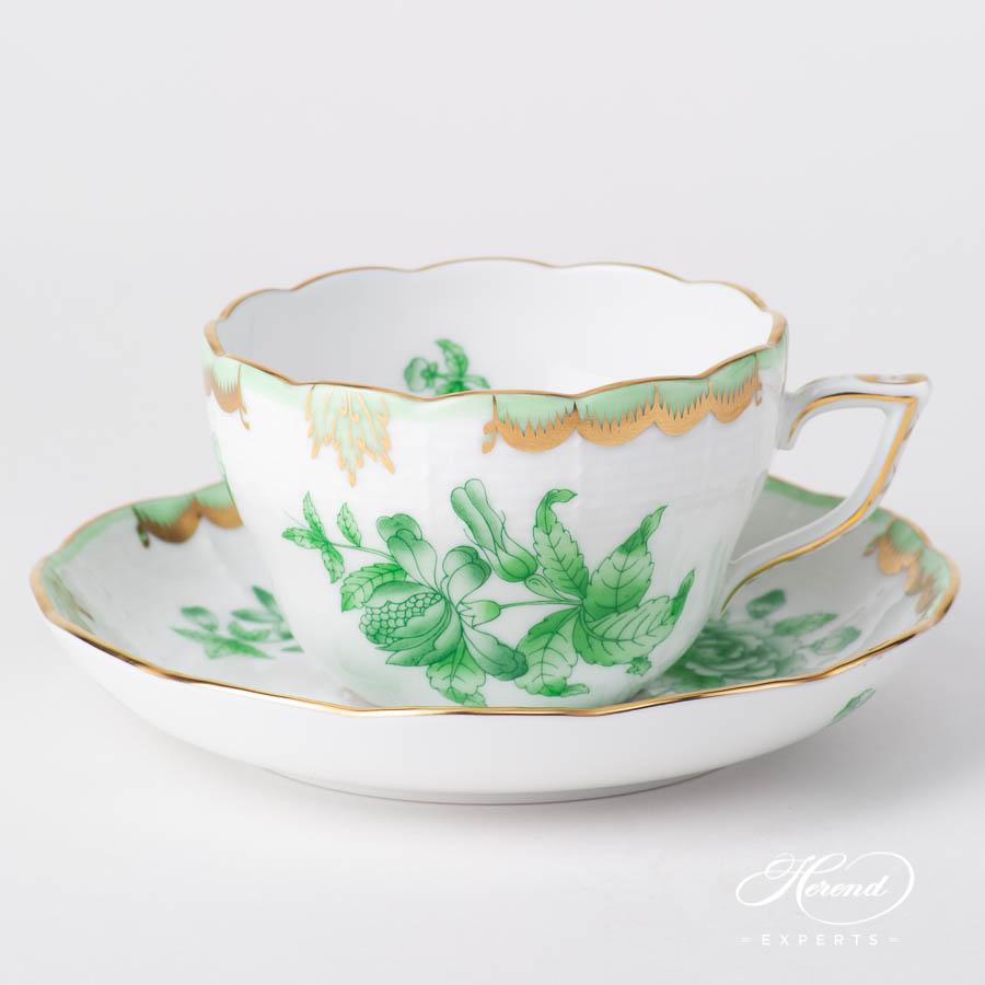 茶 / 咖啡杯 – 维多利亚女王VBOV – 赫伦细瓷
