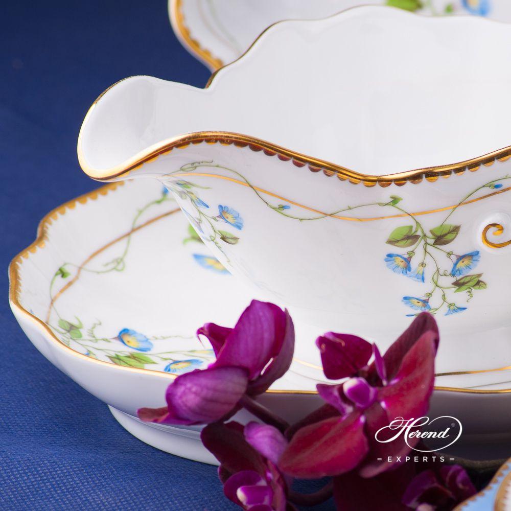 配椭圆盘船型酱料碗 – 尼翁- 赫伦细瓷