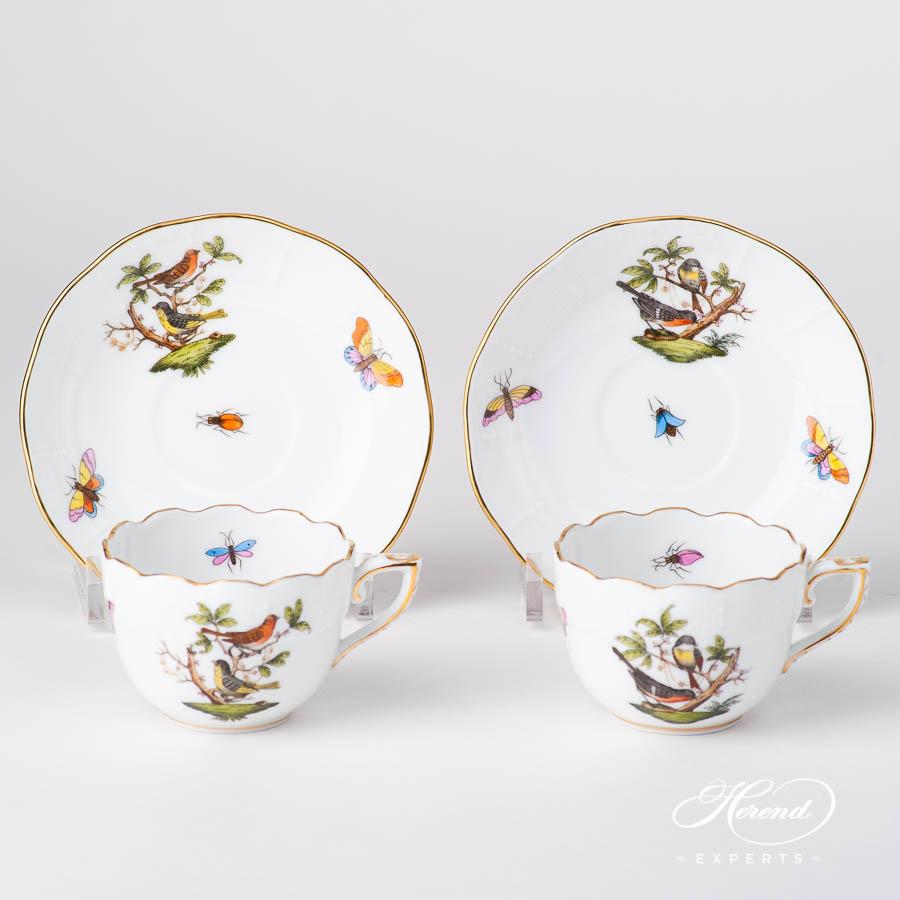 咖啡杯 – 罗丝柴尔德鸟 – 赫伦细瓷