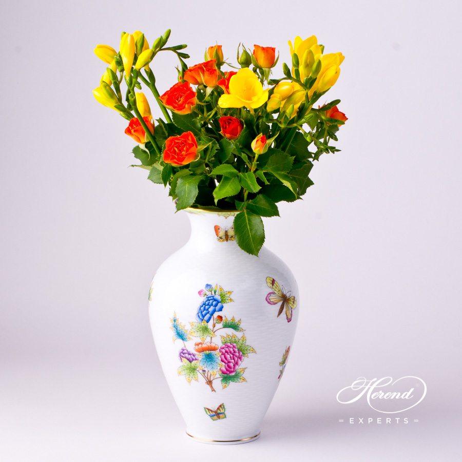 花瓶 – 中号 – 维多利亚女王 – 赫伦细瓷