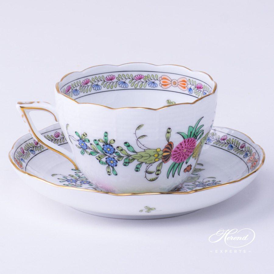 茶杯 – 印度花篮多色- 赫伦细瓷
