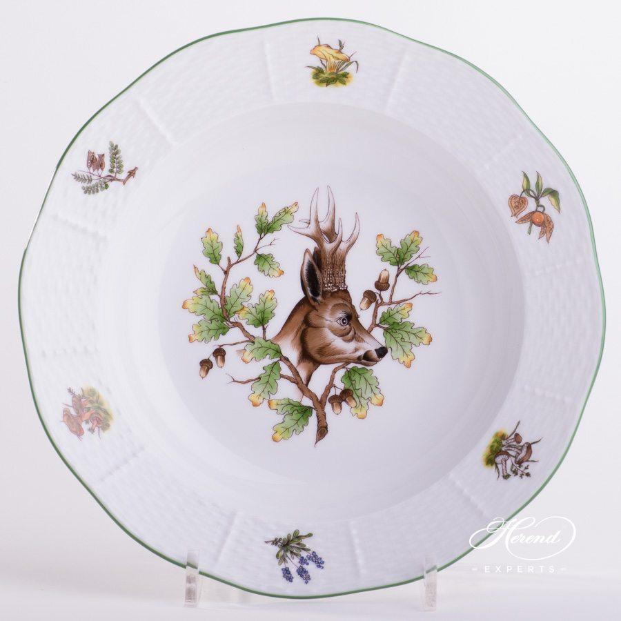 汤盘 – 狩猎系列- 赫伦细瓷