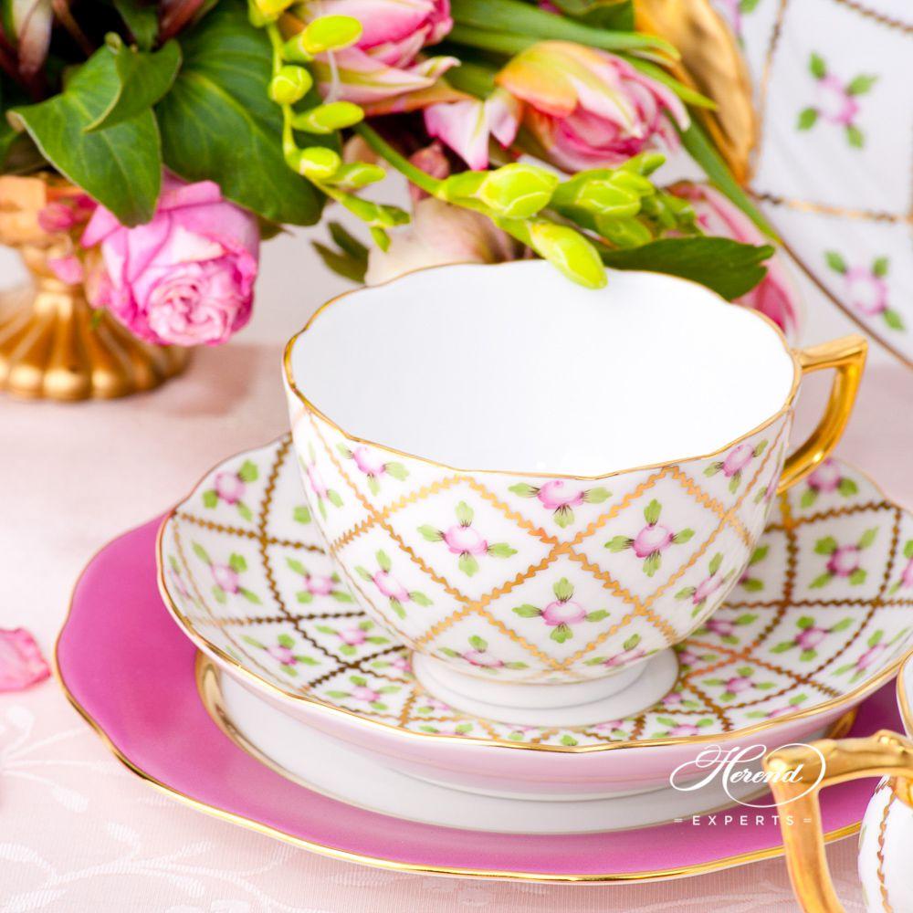 茶具套装6人份 – 赛弗勒玫瑰 – 赫伦细瓷