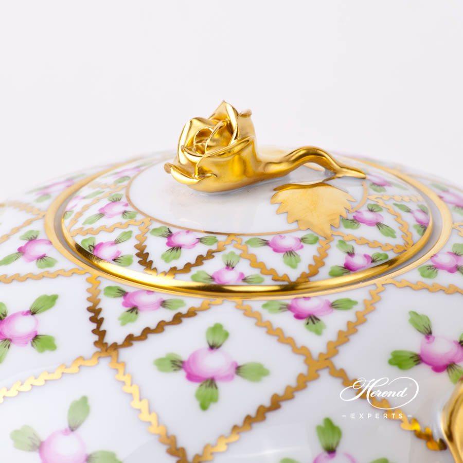 茶壶 – 赛弗勒玫瑰 – 赫伦细瓷