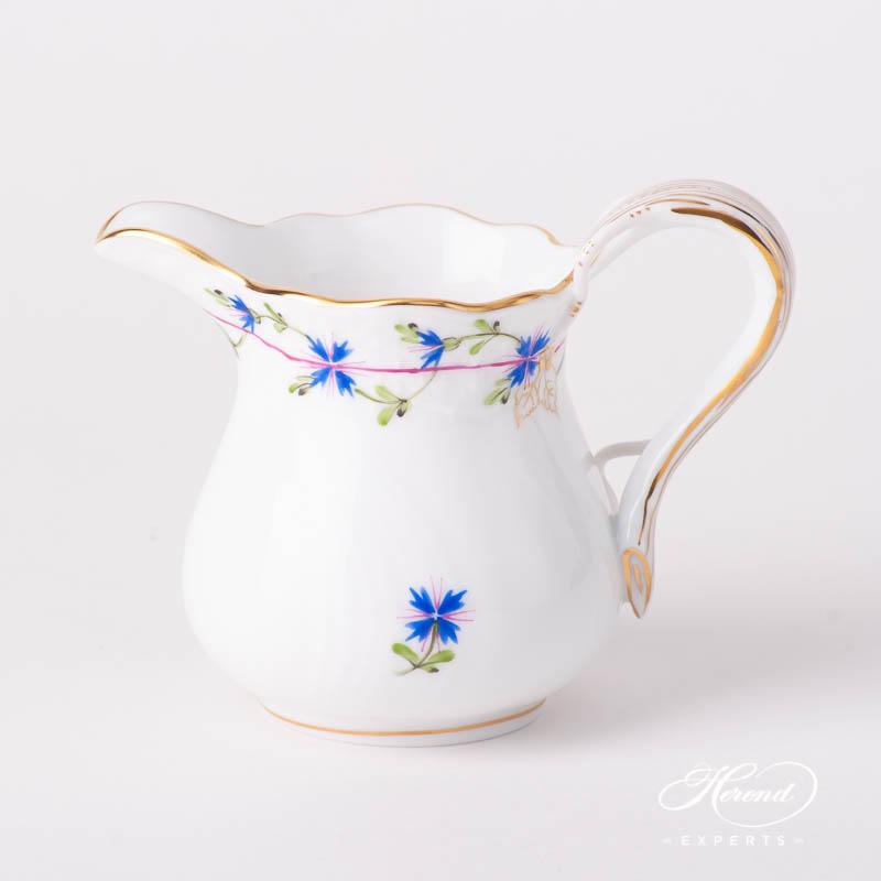奶缸/奶罐 – 蓝色矢车菊 – 赫伦细瓷