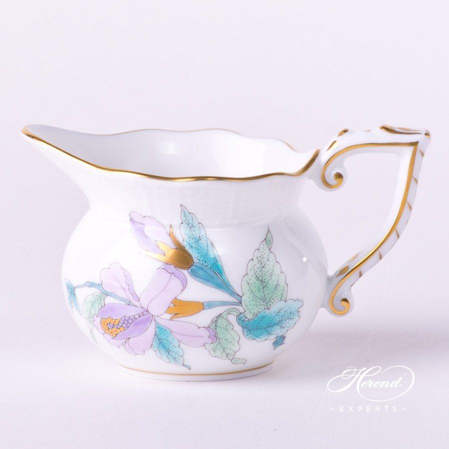 奶缸 – 皇家花园绿松石 – 赫伦细瓷