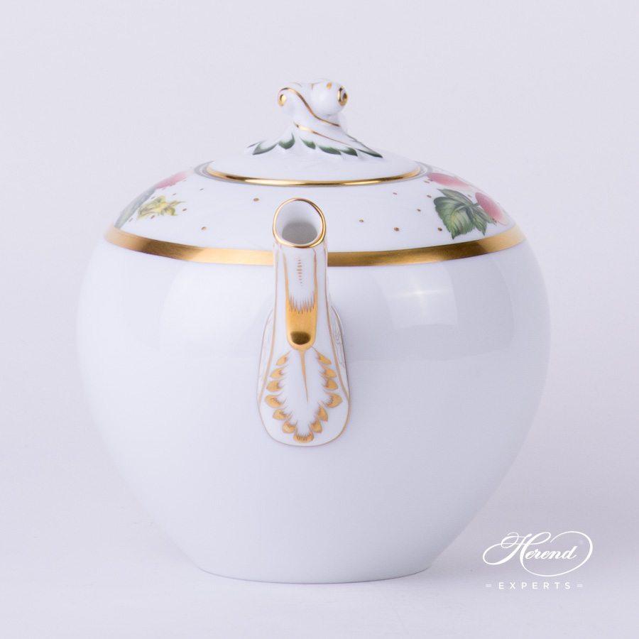 茶壶 – 水果嘉年华 – 赫伦细瓷