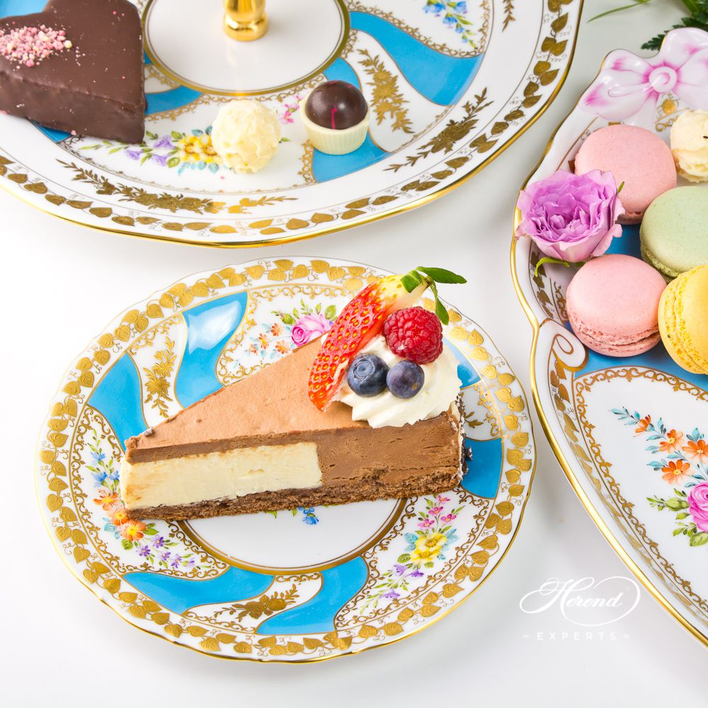 甜点盘 – Colette(科莱特) – 赫伦细瓷