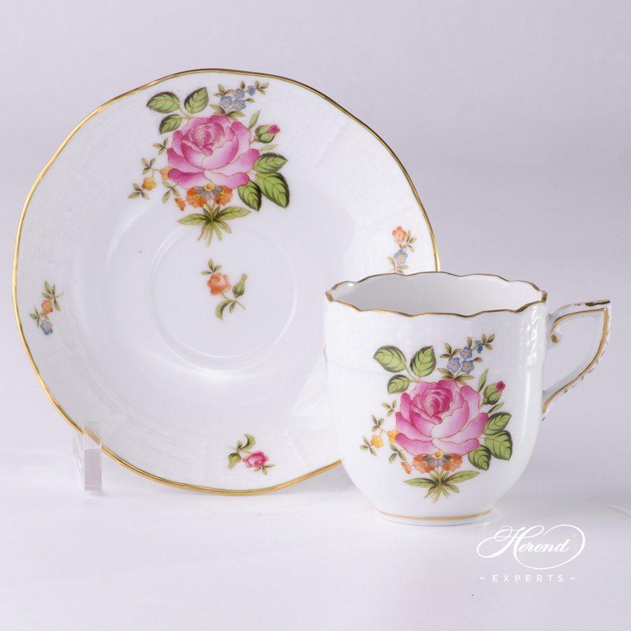 咖啡杯 – 玫瑰小花束 – 赫伦细瓷