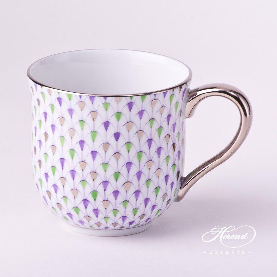 通用杯 – 特别款鱼鳞纹白金款 – 赫伦细瓷