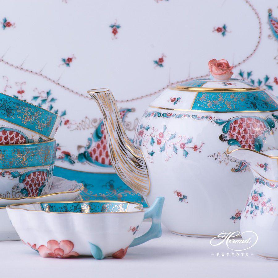 糖罐 – 丰饶 – 赫伦细瓷