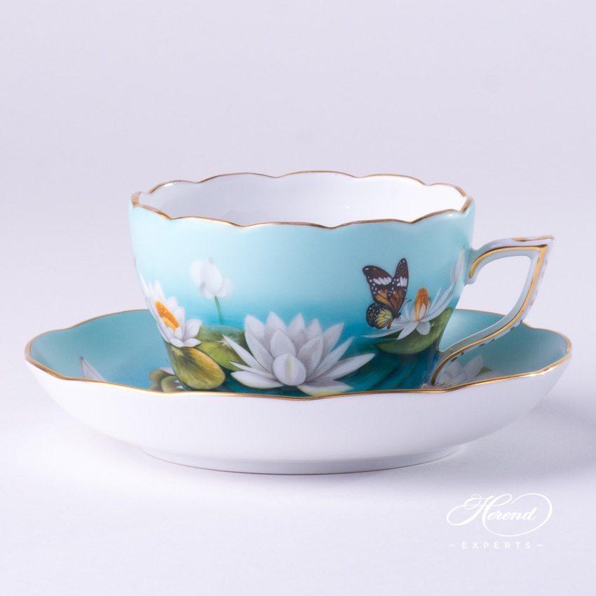 茶杯 – 荷花 – 赫伦细瓷
