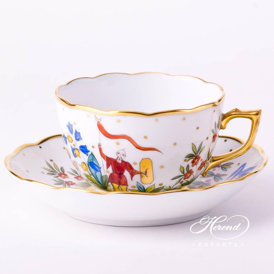 茶杯 – 东方杂耍系列 – 赫伦细瓷