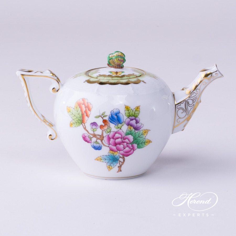 茶壶 – 维多利亚女王 -赫伦细瓷