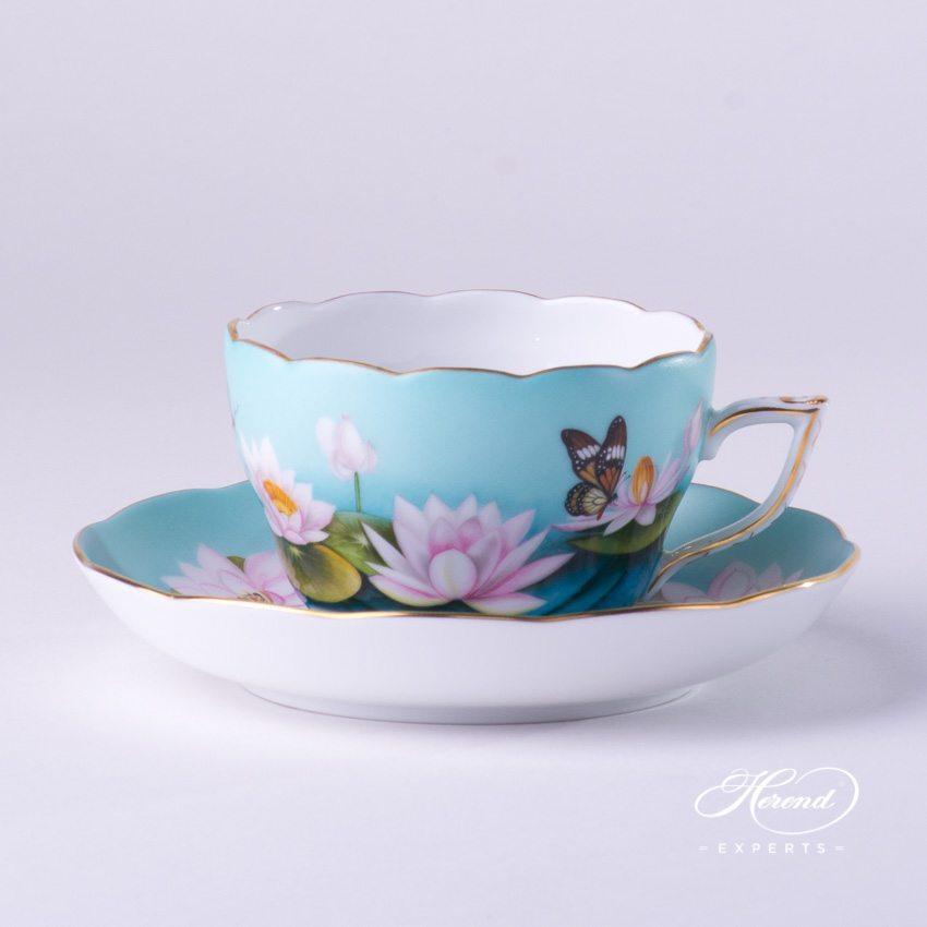 茶杯 – 睡莲 – 赫伦细瓷
