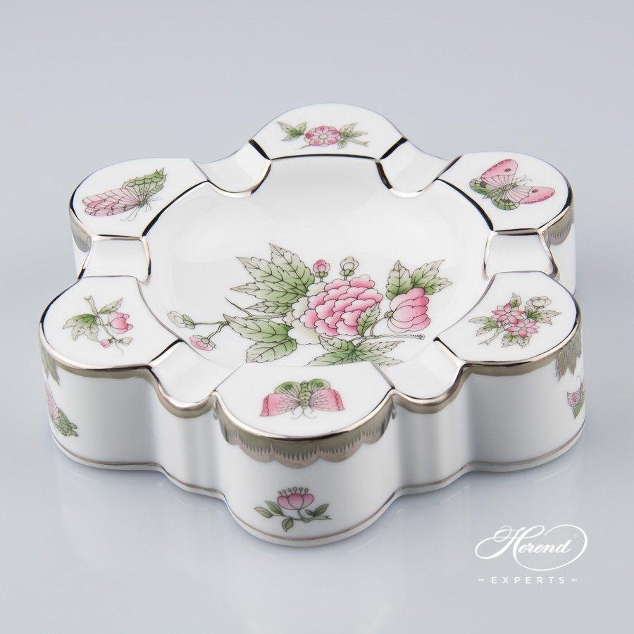 烟灰缸 – 维多利亚女王白金款 – 赫伦细瓷