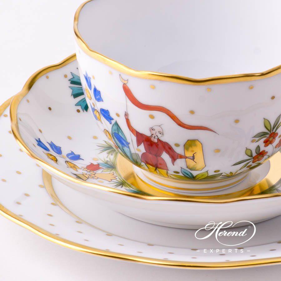 迷你茶具套装 – 东方杂耍系列 – 赫伦细瓷
