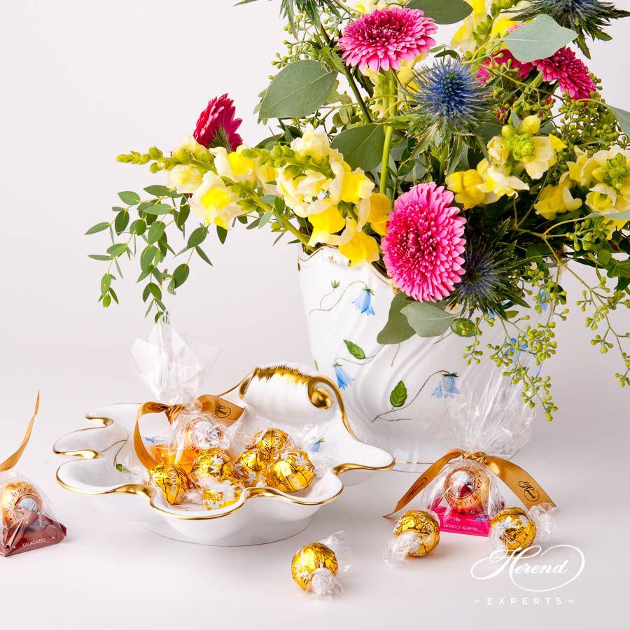 花瓶 – 蓝风铃花 – 赫伦细瓷