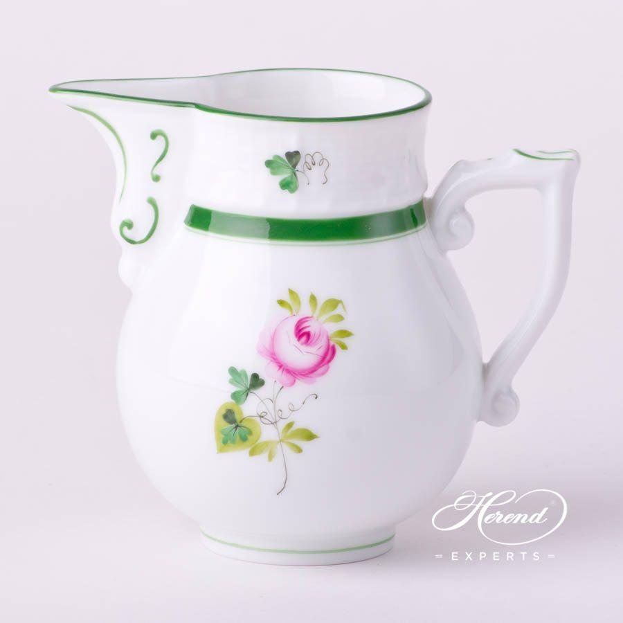 奶罐 – 维也纳玫瑰 / 维也纳玫瑰 – 赫伦细瓷