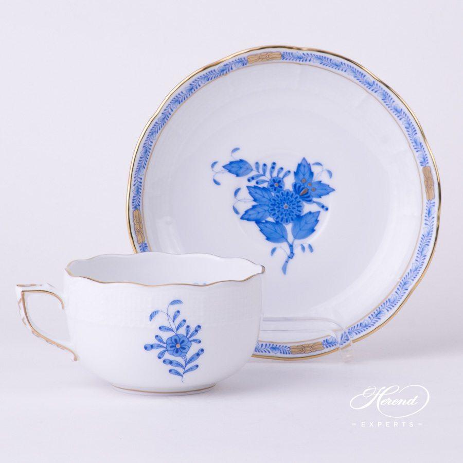 茶杯 – 阿波尼蓝色 – 赫伦细瓷