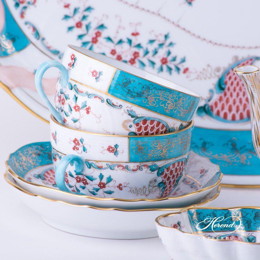 双人份茶具套装 –丰饶/ 丰饶之角 – 赫伦细瓷