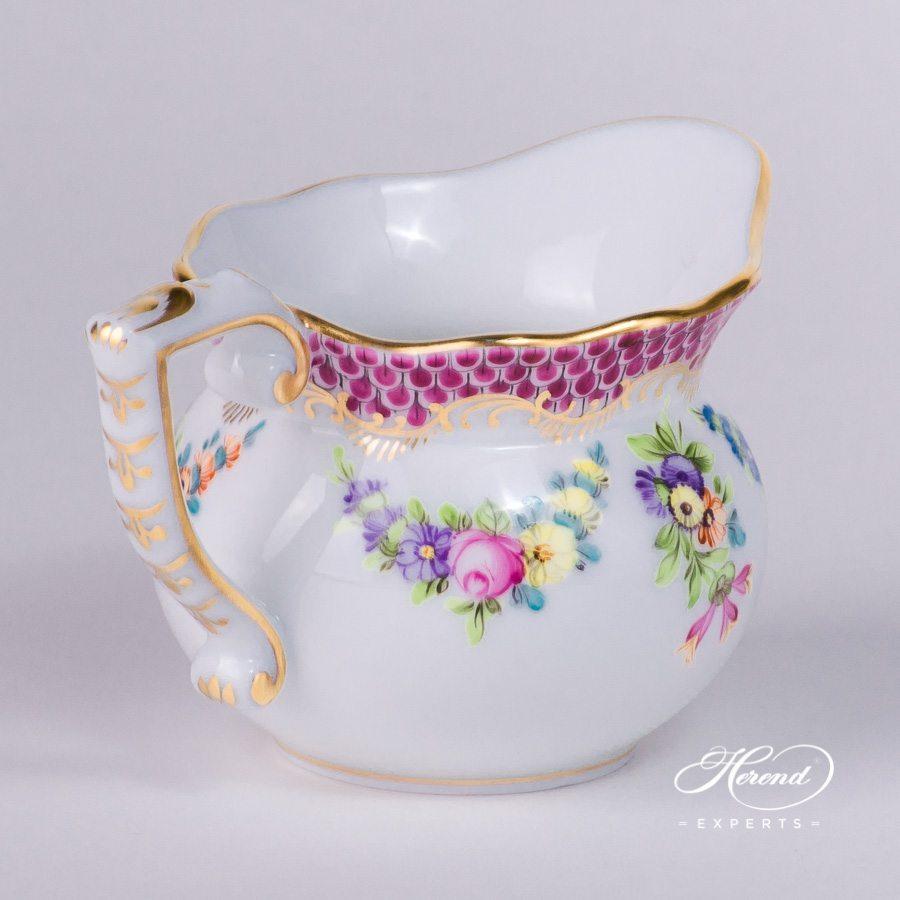 Creamer – Flower Garland 紫色鱼鳞 – 赫伦细瓷