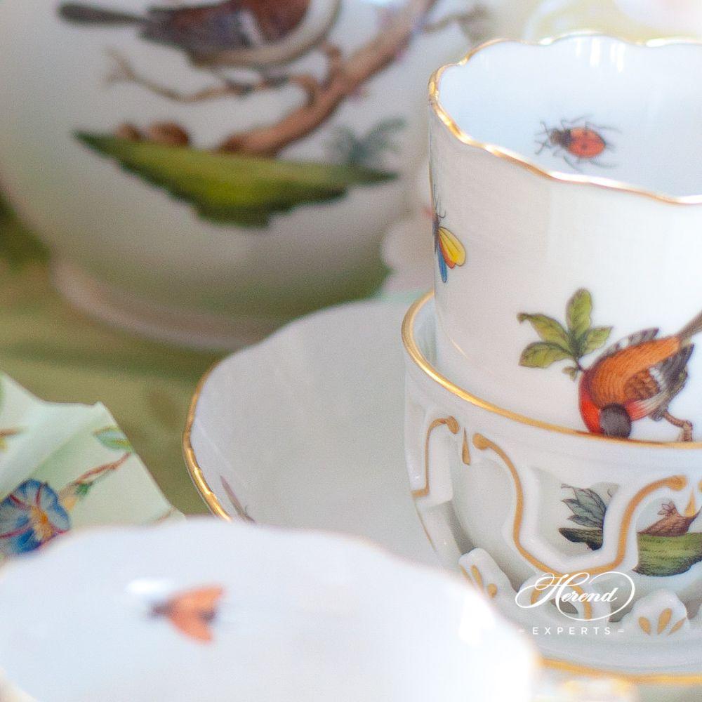 巧克力杯 – 罗丝柴尔德鸟 – 赫伦细瓷