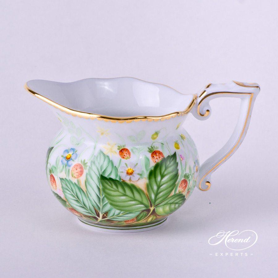 奶缸– 草莓 – 赫伦细瓷