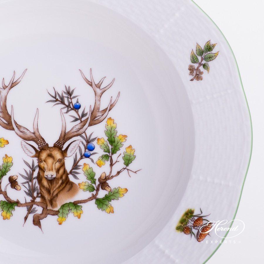 汤盘 – 狩猎系列 – 赫伦细瓷