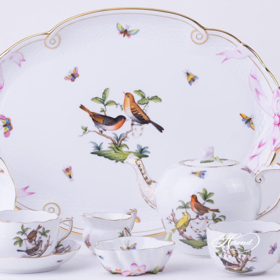 奶缸 – 罗丝柴尔德鸟 – 赫伦细瓷