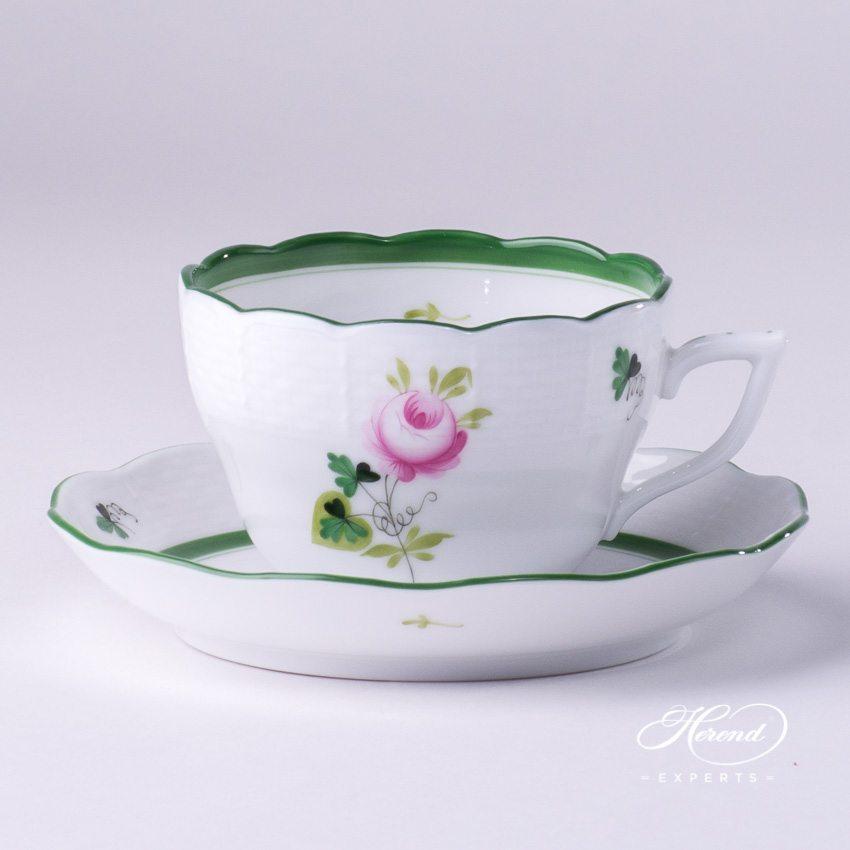 茶杯 – 维也纳 / 维也纳玫瑰 – 赫伦细瓷