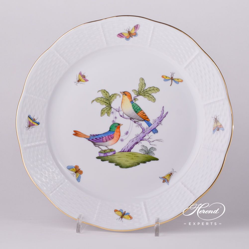 餐盘 – 罗丝柴尔德鸟 多色- 赫伦细瓷