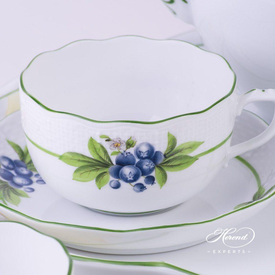 茶杯 – 浆果 – 赫伦细瓷