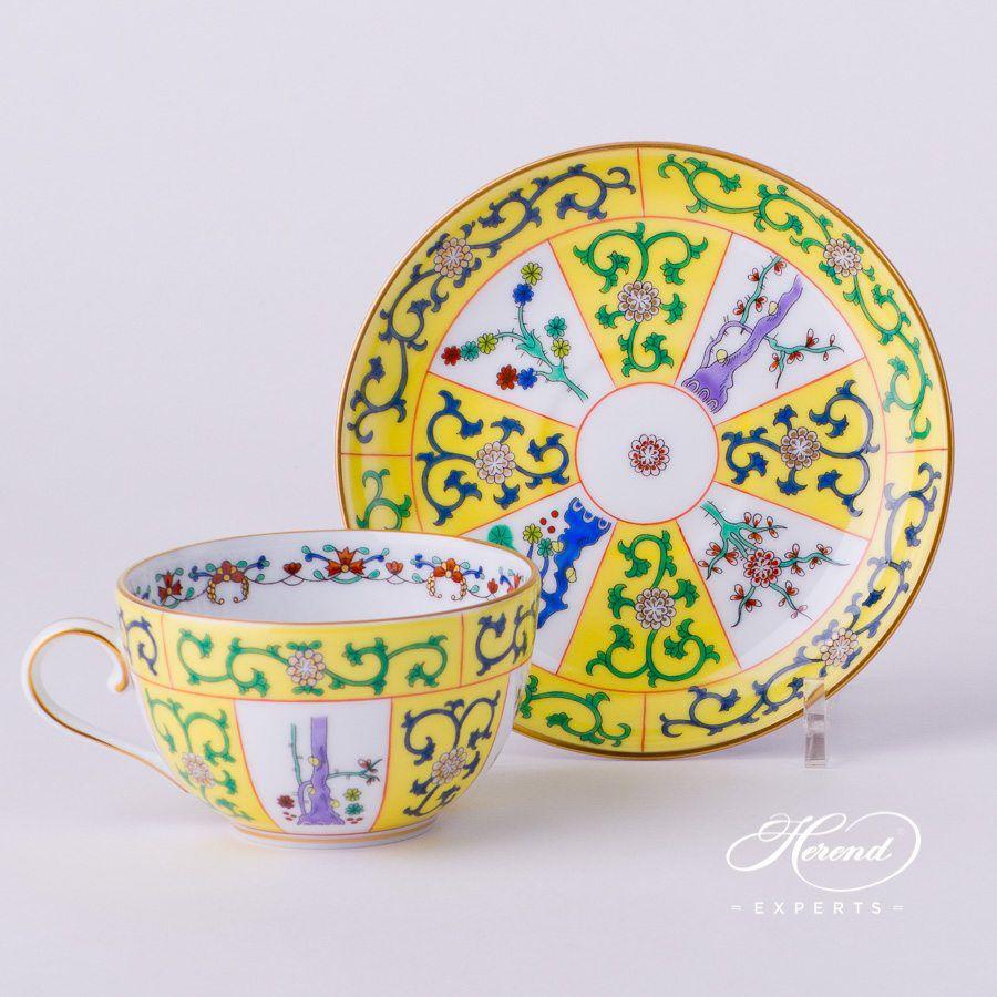茶杯 – 西安黄 – 赫伦细瓷