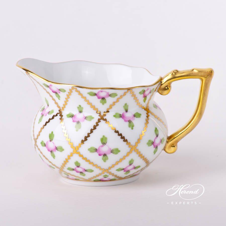 奶缸– 赛弗勒玫瑰 – 赫伦细瓷