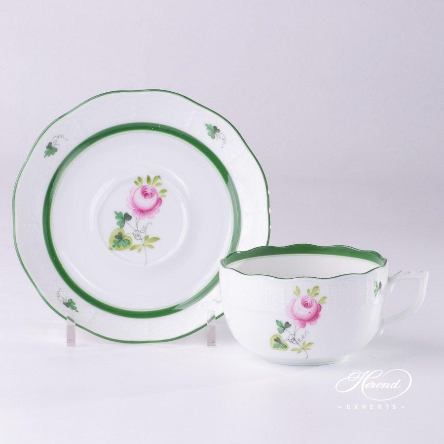 茶杯 – 维也纳玫瑰 / 维也纳玫瑰 – 赫伦细瓷