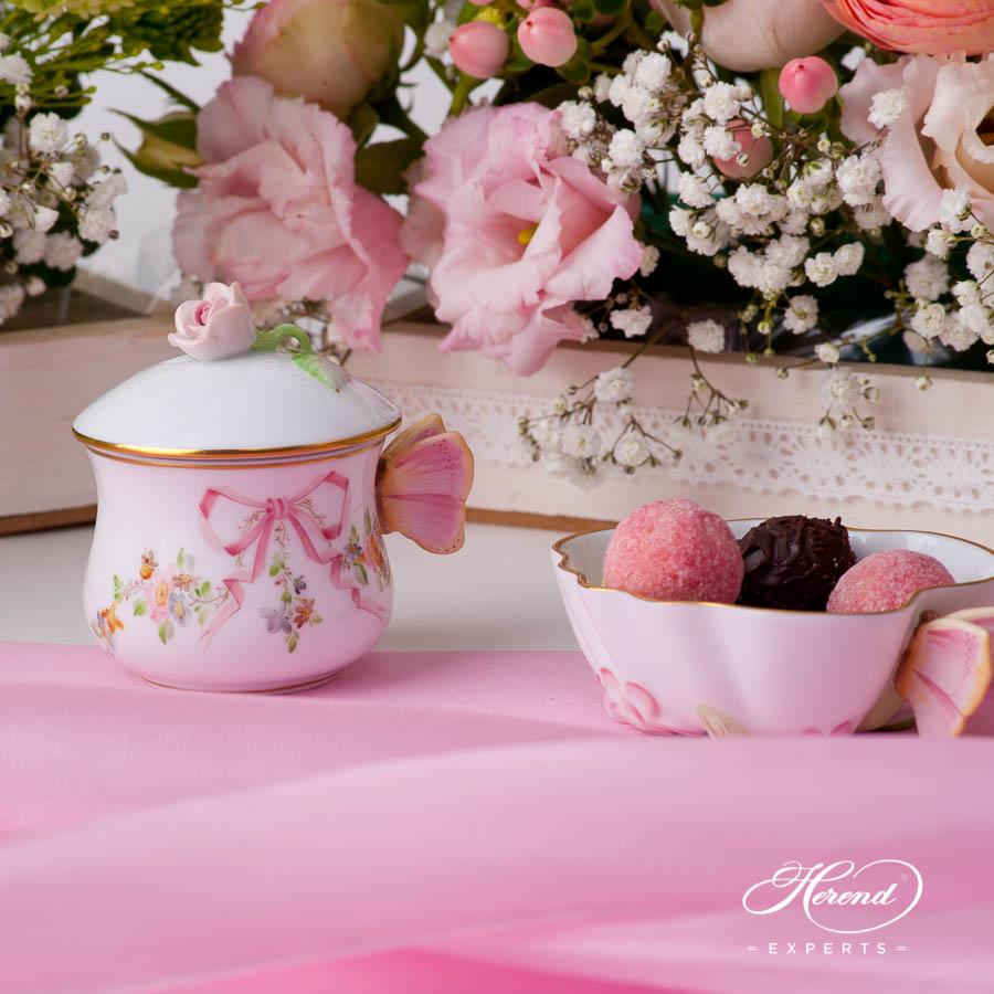 糖罐 – 伊甸园(粉色) – 赫伦细瓷