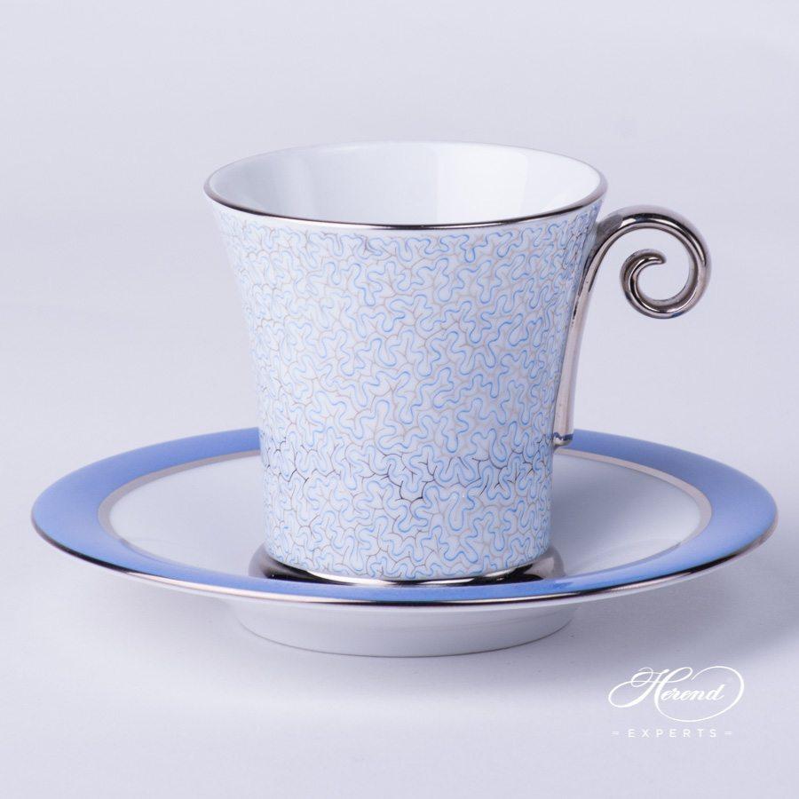 咖啡杯 – 玛瑙蓝 – 赫伦细瓷