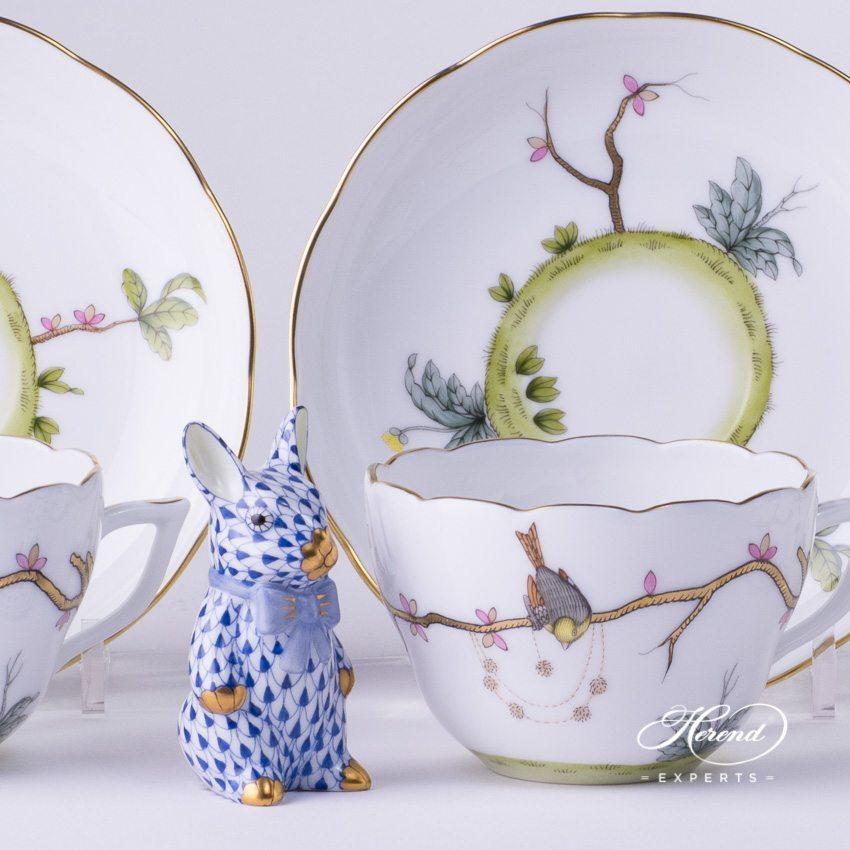 茶具 / 咖啡杯 –梦幻花园 – 赫伦细瓷