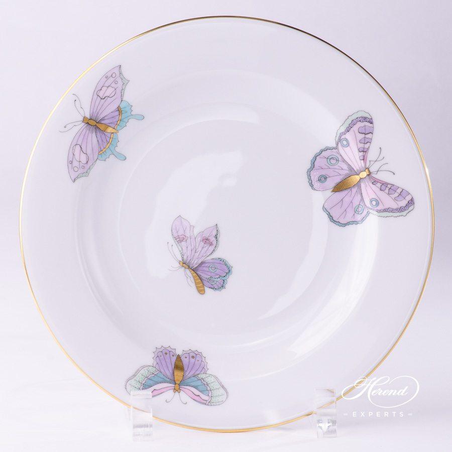 甜点盘 – 皇家花园绿松石 – 赫伦细瓷