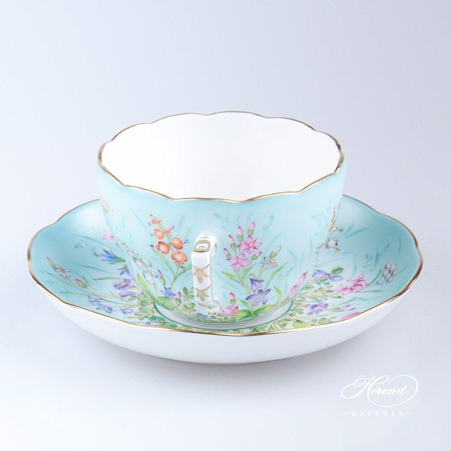 茶杯 – 四季 QS – 赫伦细瓷