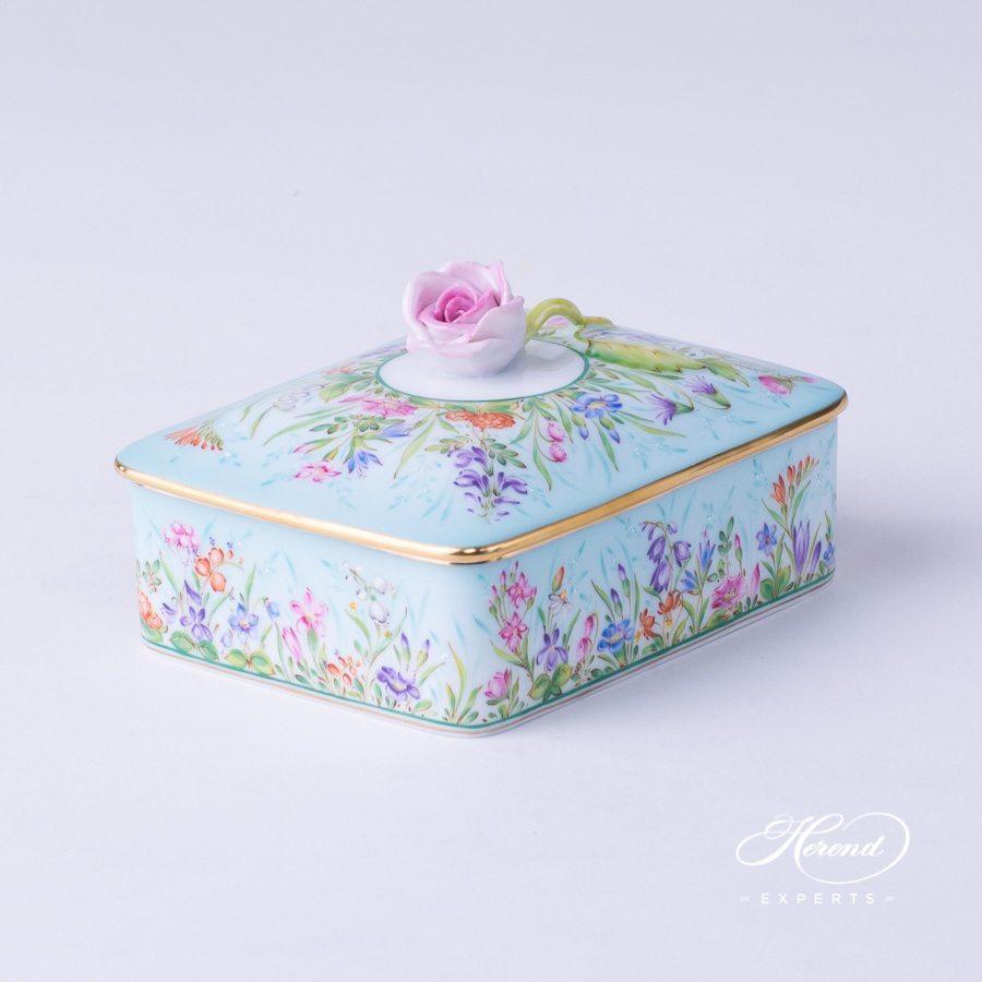 带盖万宝盒 – 四季QS – 赫伦细瓷