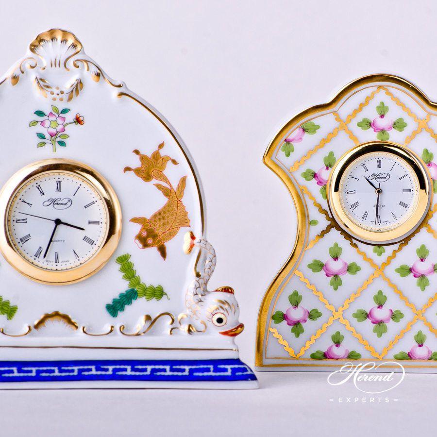 台钟 – 赛弗勒玫瑰 – 赫伦细瓷